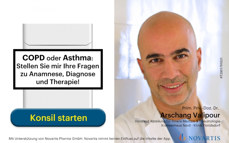 COPD Konsil-Experte Prim. Dr. Arschang Valipour
